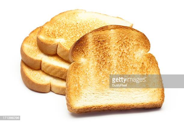 Stack of Toasted Bread