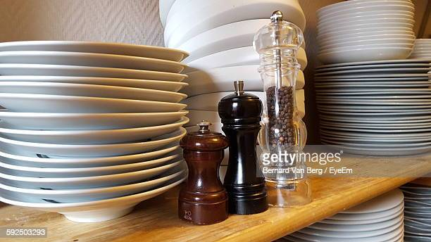 Stack On Plates On Table