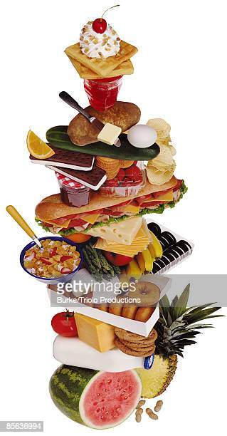 Stacked food