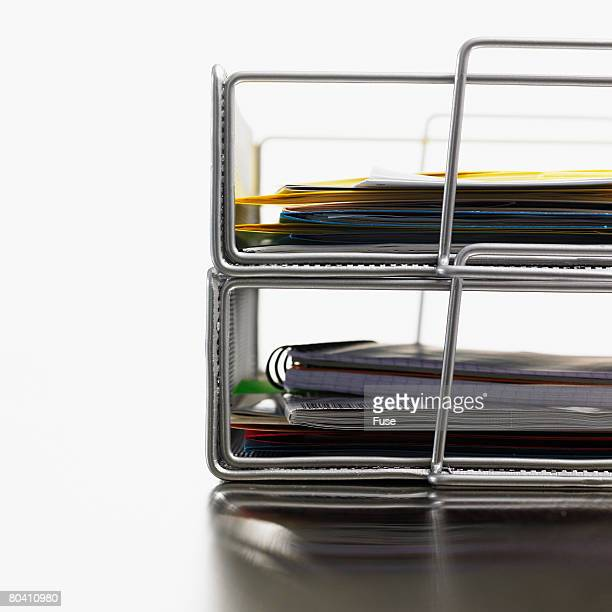 Stacked Letter Holders