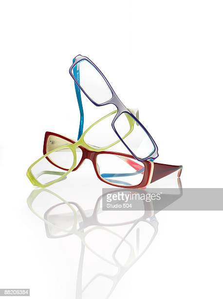 Stacked reading glasses