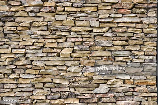 Gestapelte Steinmauer (XXL