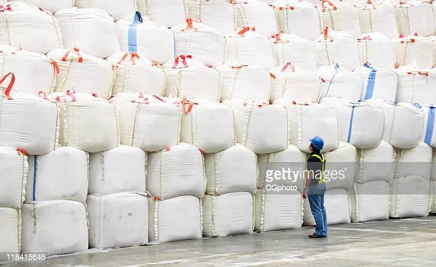 Stacks of sacks