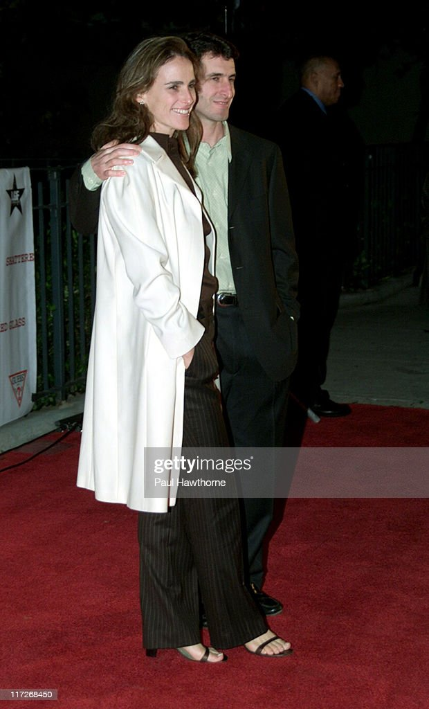 Stacy and Billy Ray, Director during Shattered Glass - New York Screening at Clearview Chelsea Theatre in New York City, New York, United States.