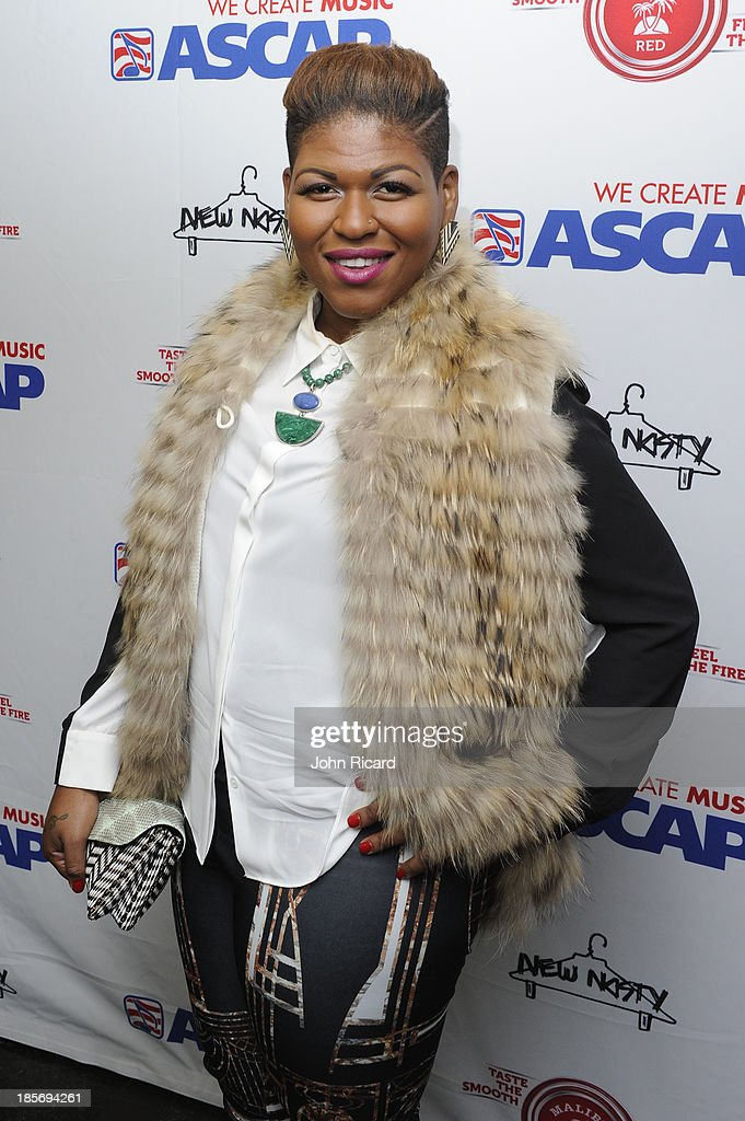 Stacy Barthe arrives at Women Behind The Music at Lexicon on October 23, 2013 in New York City.