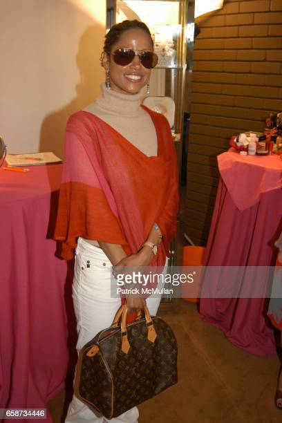 Stacy Dash attend the Boudoir Oscar Suite Sponsored by Mario Badescu Vidal Sassoon and Creative Mail Design at the Chateau Marmont on February 27...