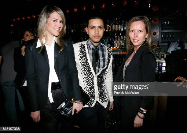 Stacy Drosatou Heraan Lalder and Sendrine Briere attend XEX MAGAZINE Issue 2 Release Party at SL on February 7 2010 in New York