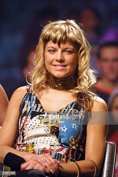 Stacy Ferguson of Wild Orchid performs a concert for Much Music at the Sony Music Studios in New York City 4/8/01 Photo by Scott Gries/ImageDirect