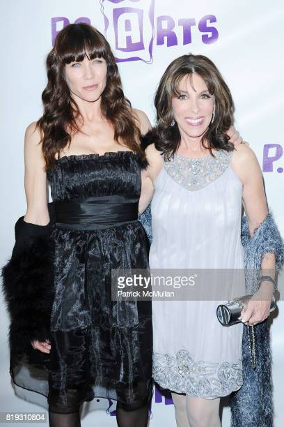 Stacy Haiduk and Kate Linder attend Opening Night Preview Party Of the LA Antique Show Benefiting PS ARTS at Barker Hangar on April 21 2010 in Santa...