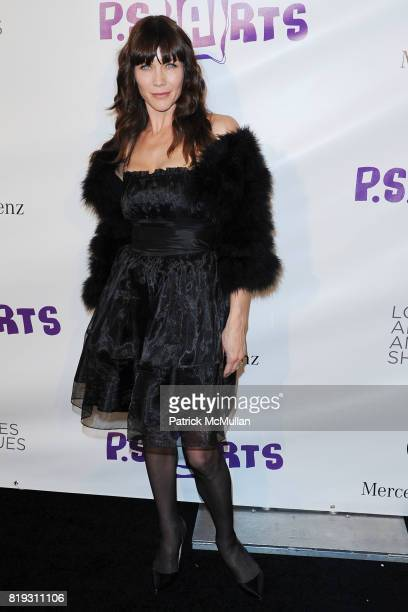 Stacy Haiduk attends Opening Night Preview Party Of the LA Antique Show Benefiting PS ARTS at Barker Hangar on April 21 2010 in Santa Monica...