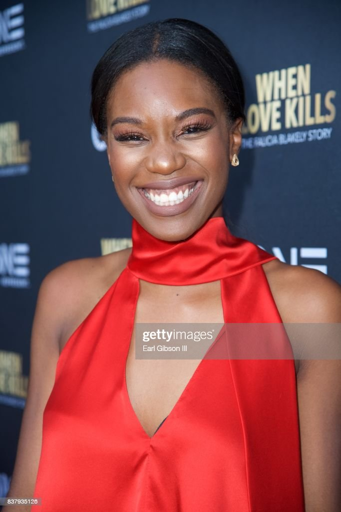 Stacy Ike attends the Premiere Of TV One's 'When Love Kills' at Harmony Gold on August 22, 2017 in Los Angeles, California.