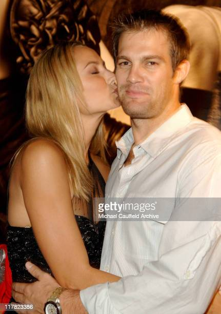Stacy Keibler and Geoff Stults during Entertainment Weekly Magazine Celebrates The 2006 Photo Issue at Quixote Studio in Hollywood California United...