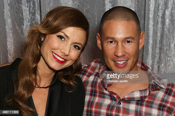 Stacy Keibler and Jared Pobre attend CIROC presents Bootsy Bellows at the Liquid Cellar on January 31 2014 in New York City