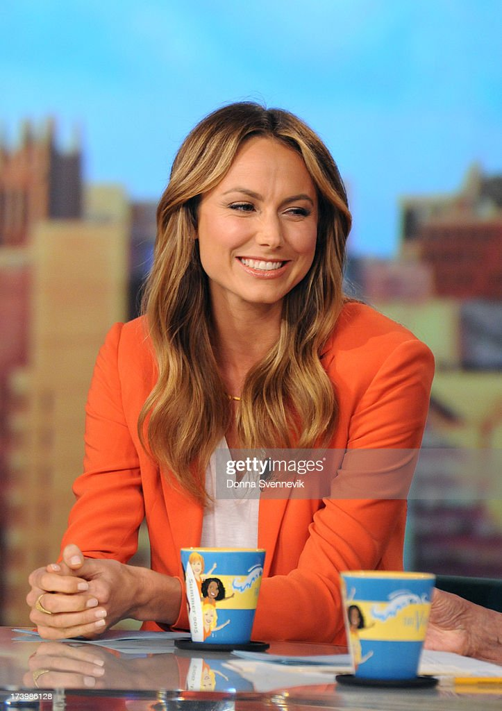THE VIEW - <a gi-track='captionPersonalityLinkClicked' href=/galleries/search?phrase=Stacy+Keibler&family=editorial&specificpeople=3031844 ng-click='$event.stopPropagation()'>Stacy Keibler</a> and Mario Cantone guest co-host today, Thursday, July 18, 2013 on ABC's 'The View.' 'The View' airs Monday-Friday (11:00 am-12:00 pm, ET) on the ABC Television Network. KEIBLER