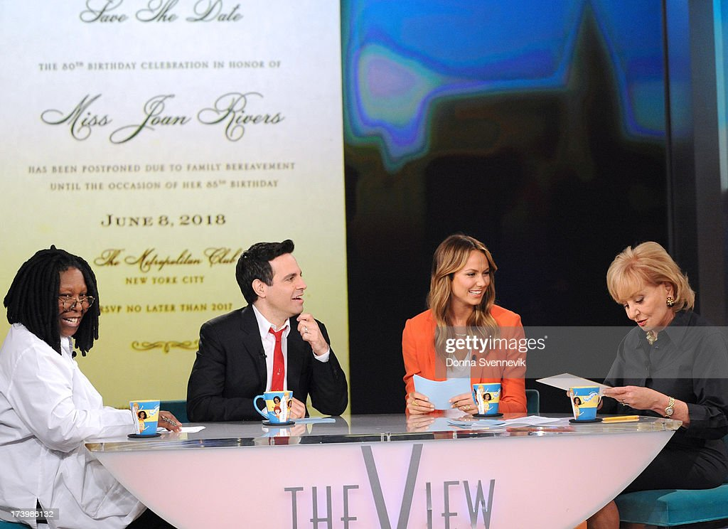 THE VIEW - Stacy Keibler and Mario Cantone guest co-host today, Thursday, July 18, 2013 on ABC's 'The View.' 'The View' airs Monday-Friday (11:00 am-12:00 pm, ET) on the ABC Television Network. WALTERS