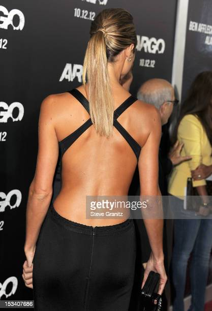 Stacy Keibler arrives at the 'Argo' Los Angeles Premiere at AMPAS Samuel Goldwyn Theater on October 4 2012 in Beverly Hills California