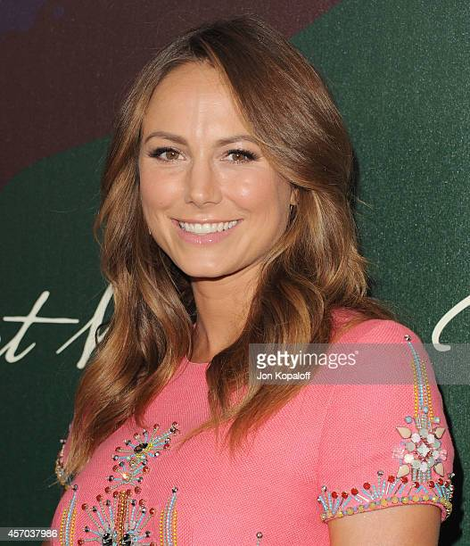Stacy Keibler arrives at Variety's 2014 Power Of Women Event In LA Presented By Lifetime at the Beverly Wilshire Four Seasons Hotel on October 10...