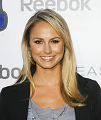 Stacy Keibler arrives to the Reebok 'Easy Tone' launch party held at a private residence on June 23 2009 in Beverly Hills California