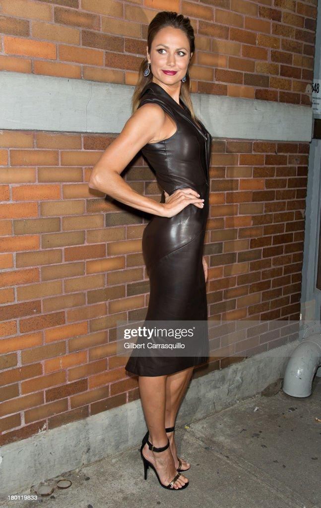 Celebrity Sightings - Day 4 -  2014 Mercedes-Benz Fashion Week
