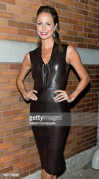 Stacy Keibler attends 2014 MercedesBenz Fashion Week during day 4 on September 8 2013 in New York City