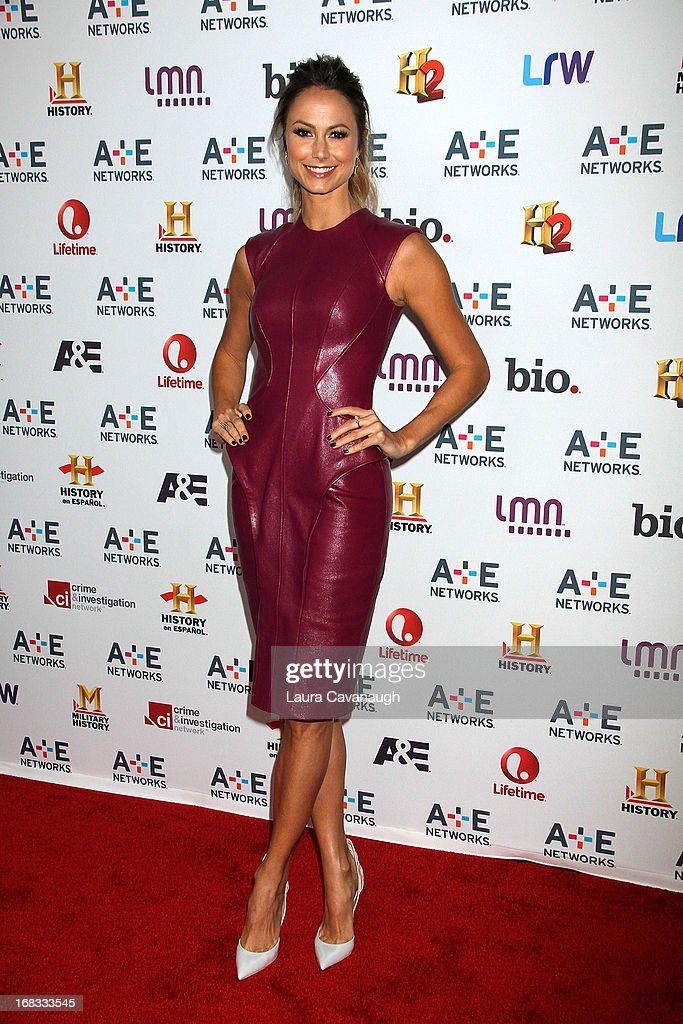 <a gi-track='captionPersonalityLinkClicked' href=/galleries/search?phrase=Stacy+Keibler&family=editorial&specificpeople=3031844 ng-click='$event.stopPropagation()'>Stacy Keibler</a> attends A&E Networks 2013 Upfront at Lincoln Center on May 8, 2013 in New York City.
