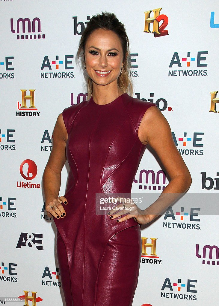 Stacy Keibler attends A&E Networks 2013 Upfront at Lincoln Center on May 8, 2013 in New York City.
