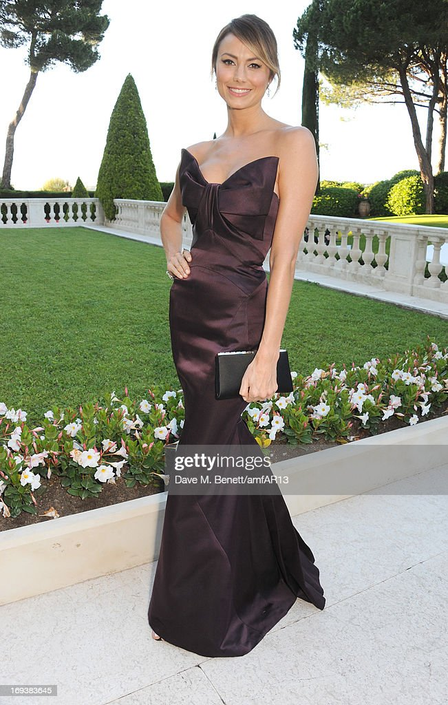 Stacy Keibler attends amfAR's 20th Annual Cinema Against AIDS during The 66th Annual Cannes Film Festival at Hotel du Cap-Eden-Roc on May 23, 2013 in Cap d'Antibes, France.