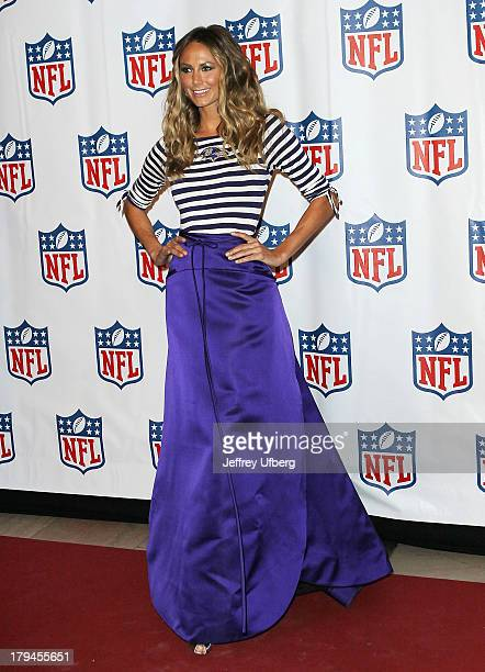 Stacy Keibler attends Back To Football at Grand Central Terminal on September 3 2013 in New York City