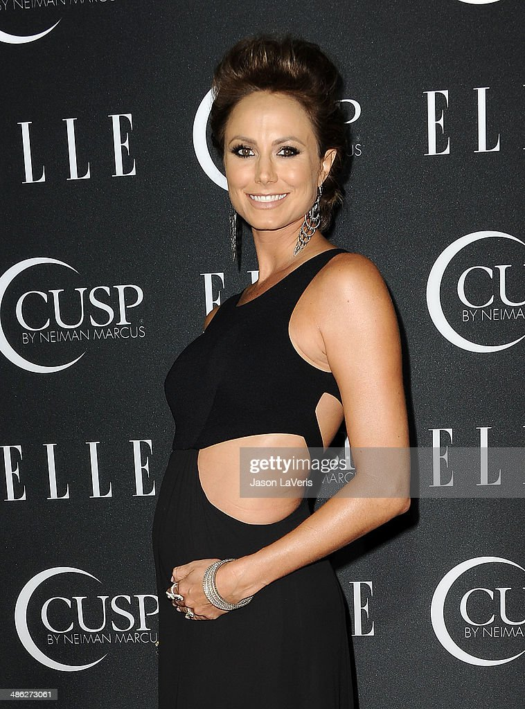 Stacy Keibler attends ELLE's 5th annual Women In Music concert celebration at Avalon on April 22, 2014 in Hollywood, California.