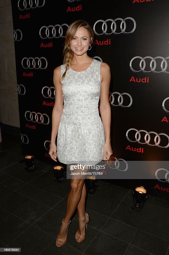 Stacy Keibler attends the Audi Forum New Orleans at the Ogden Museum of Southern Art on February 2, 2013 in New Orleans, Louisiana.