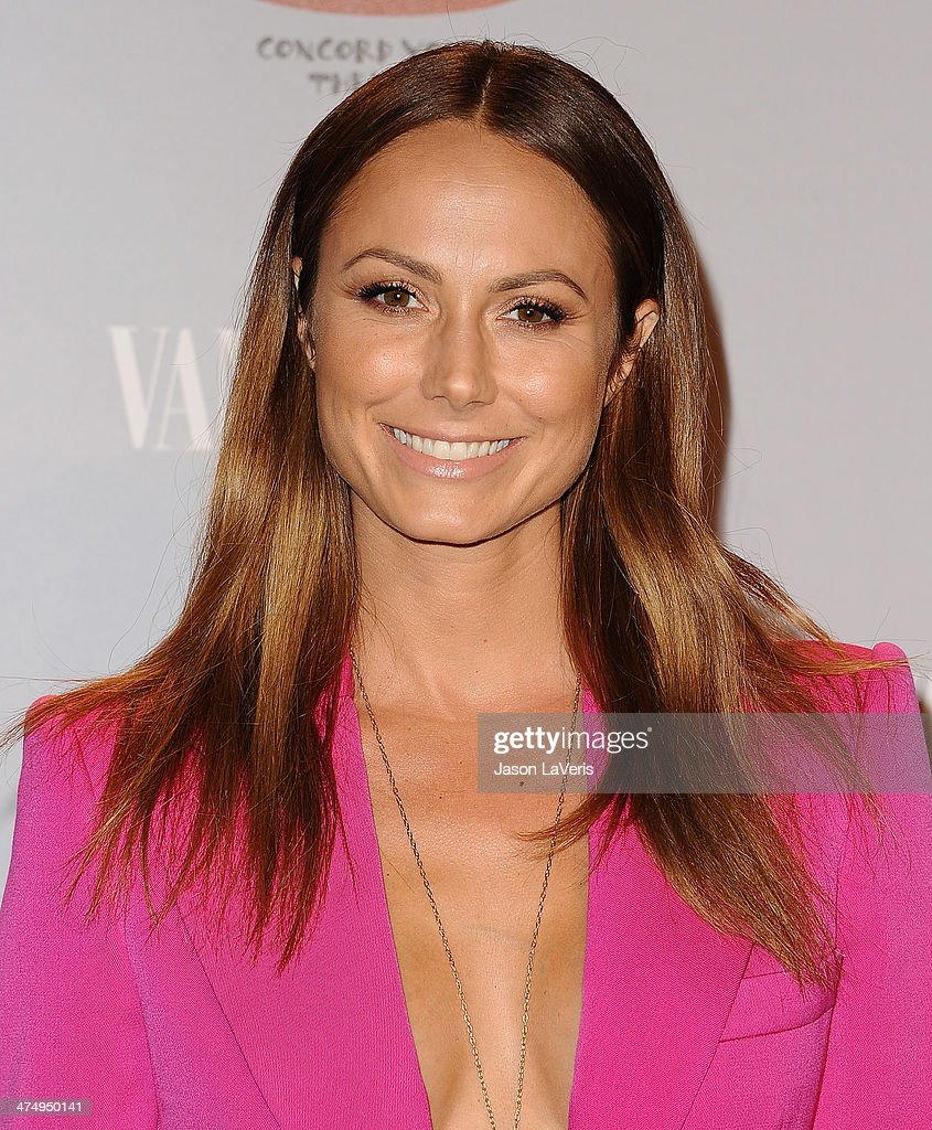 Stacy Keibler attends the Vanity Fair Campaign Young Hollywood party at No Vacancy on February 25, 2014 in Los Angeles, California.