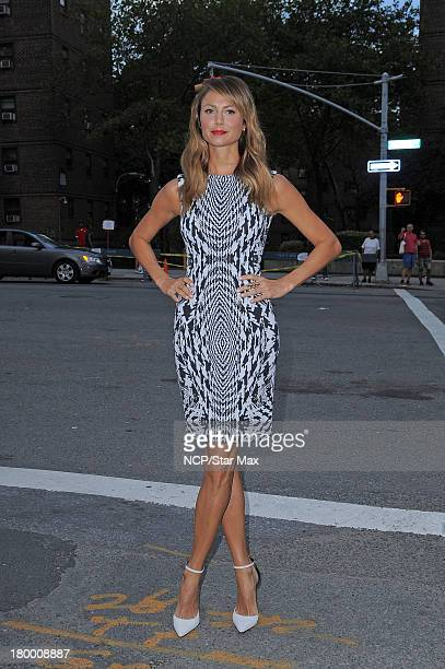 Stacy Keibler is seen on September 7 2013 in New York City