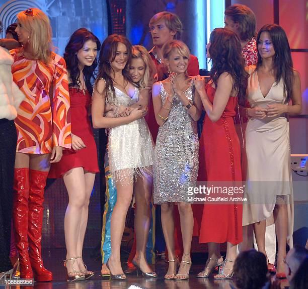 Stacy Keibler Michelle Trachtenberg Lindsay Lohan Samaire Armstrong Nicole Richie Sophia Bush and Brooke Burke wearing Tommy Hilfiger