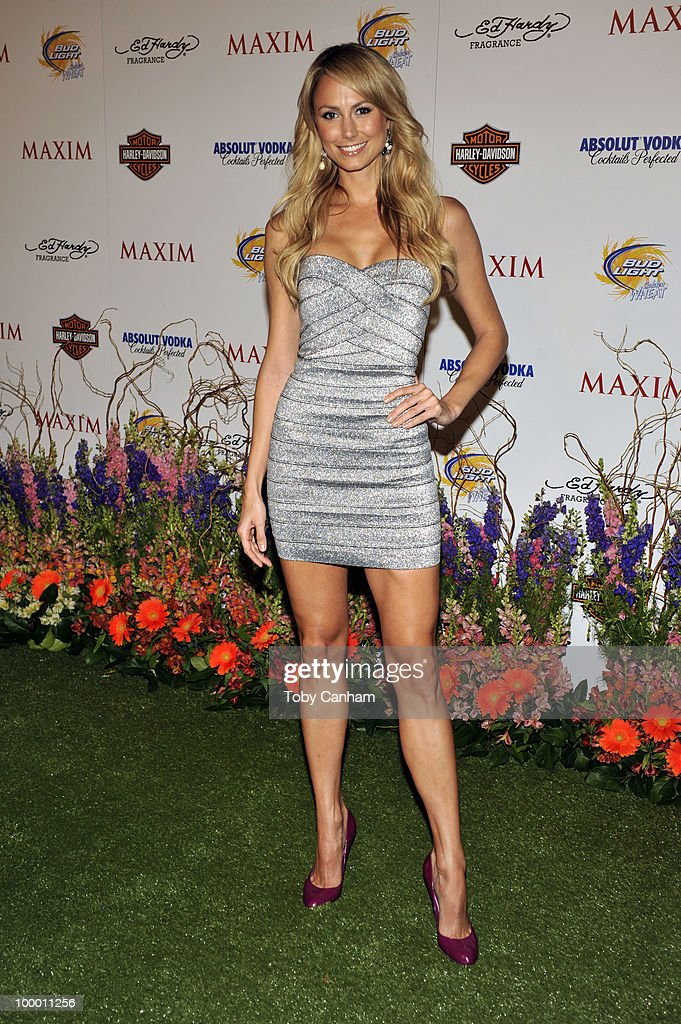 Stacy Keibler poses for a picture at the 11th Annual Maxim Hot 100 Party on May 19, 2010 in Los Angeles, California.