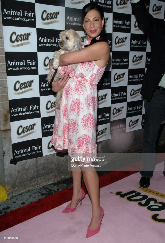 Stacy London and Alice in Rebecca Taylor during Animal Fair Magazine's 8th Annual Paws for Style at Arena in New York City New York United States