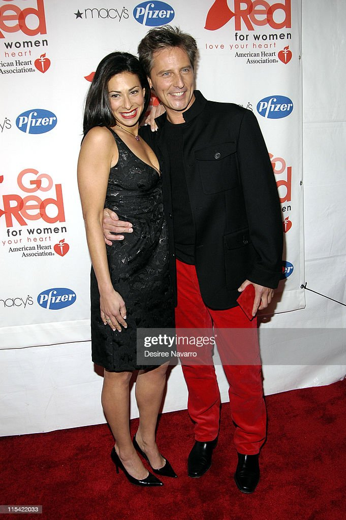 Stacy London and Doug Wilson during Sigourney Weaver Hosts Rhapsody In Red Celebrating How Women 'Go Red' at New York Public Library in New York City...