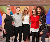 THE VIEW Stacy London and Samantha Ponder guest cohost Thursday February 26 2015 Guests include ABC News' Diane Sawyer Teri Polo Sherri Saum Maia...