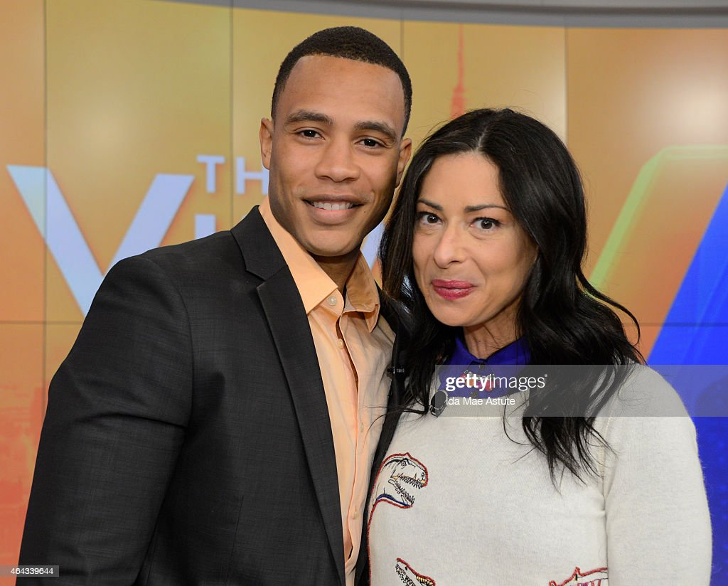 THE VIEW Stacy London and Samantha Ponder guest cohost Trai Byers 'Must Have MondaY' flash sale hosted by lifestyle expert Tai Beauchamp Vine week...