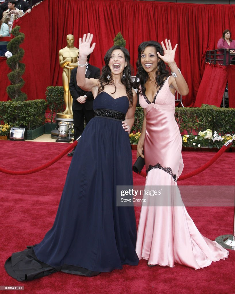 Stacy London and Shaun Robinson during The 79th Annual Academy Awards Arrivals at Kodak Theatre in Los Angeles California United States