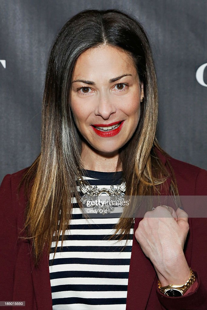 <a gi-track='captionPersonalityLinkClicked' href=/galleries/search?phrase=Stacy+London&family=editorial&specificpeople=542682 ng-click='$event.stopPropagation()'>Stacy London</a> attends as Gilt And Stuart Weitzman celebrate the 5050 Boot 20th anniversary on October 16, 2013 in New York City.