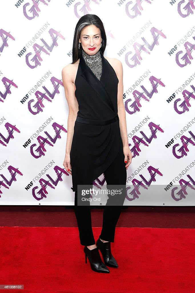 Stacy London attends NRF Foundation Gala on January 11 2015 in New York City