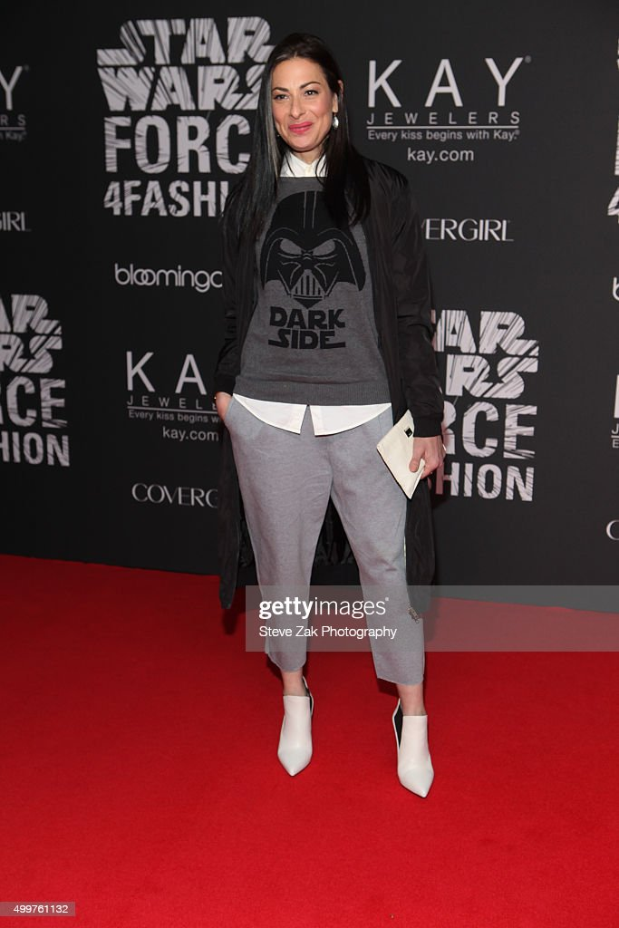 Stacy London attends Star Wars 'Force 4 Fashion' launch even at Skylight Modern on December 2, 2015 in New York City.