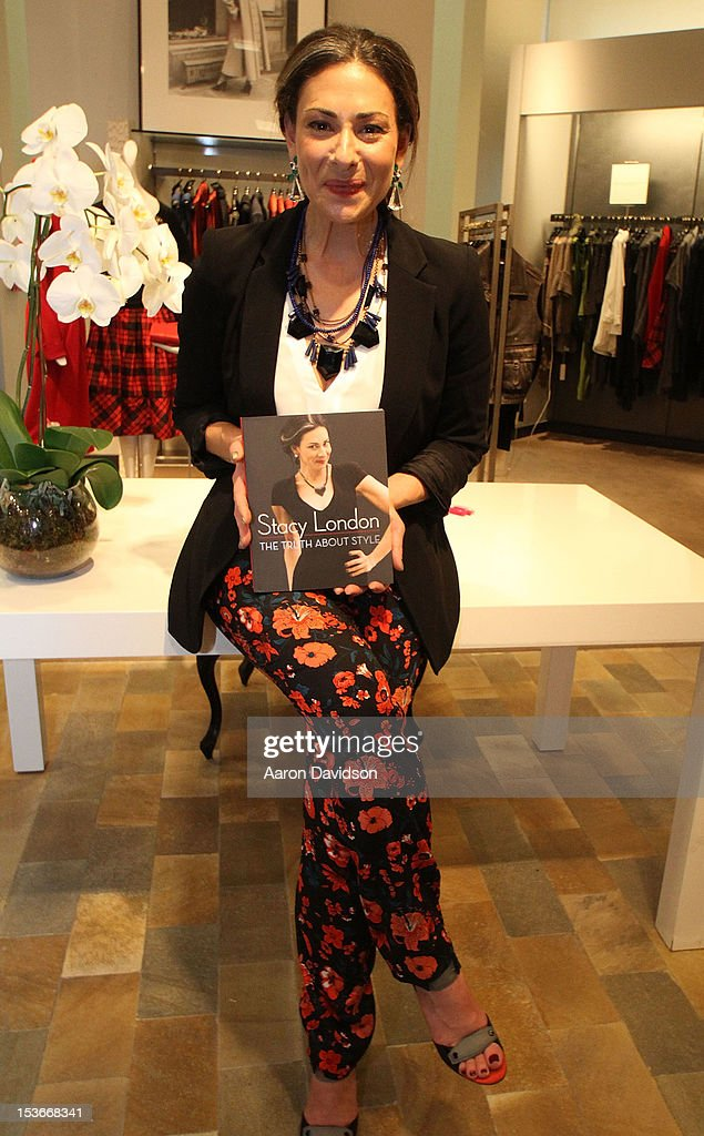 Stacy London greets fans and signs copies of her book 'The Truth About Style' at Neiman Marcus on October 8, 2012 in Miami Beach, Florida.