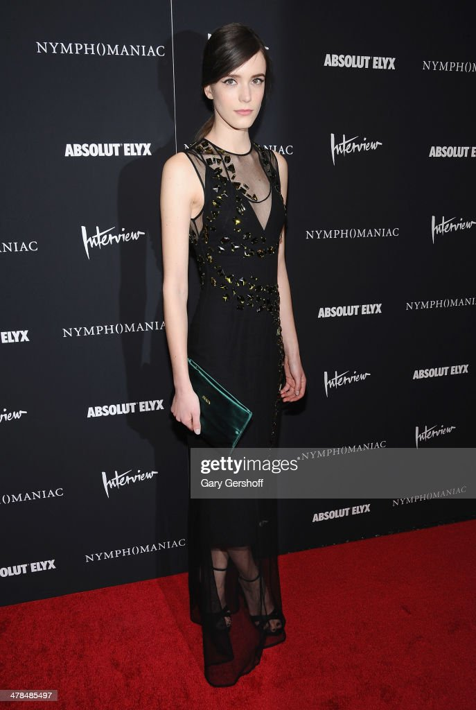 <a gi-track='captionPersonalityLinkClicked' href=/galleries/search?phrase=Stacy+Martin&family=editorial&specificpeople=5545651 ng-click='$event.stopPropagation()'>Stacy Martin</a> attends the 'Nymphomaniac: Volume I' screening at The Museum of Modern Art on March 13, 2014 in New York City.