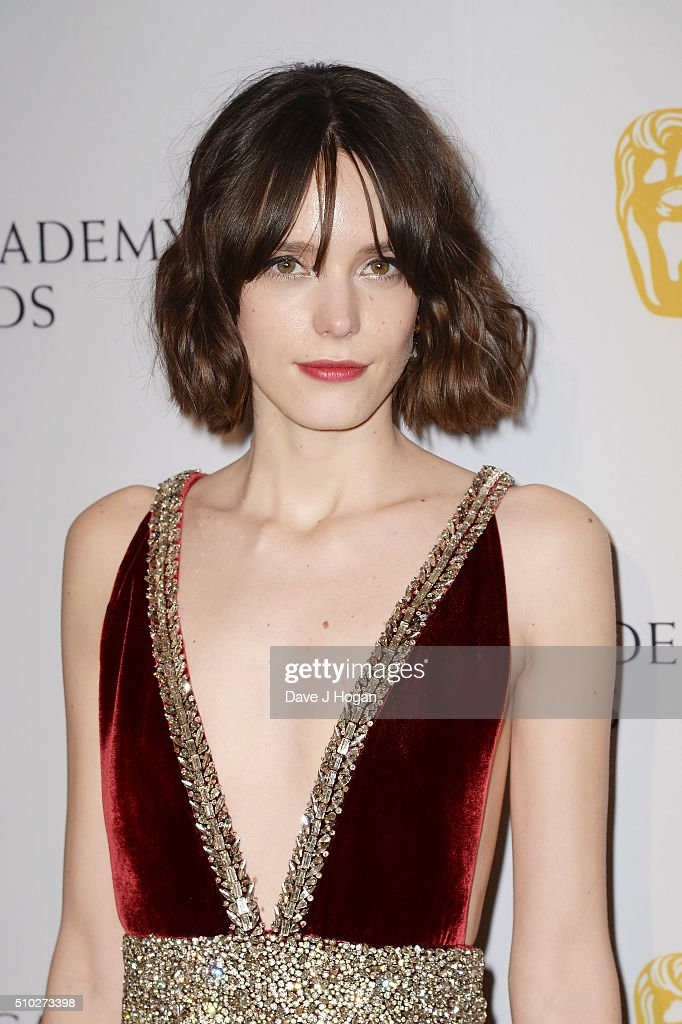 <a gi-track='captionPersonalityLinkClicked' href=/galleries/search?phrase=Stacy+Martin&family=editorial&specificpeople=5545651 ng-click='$event.stopPropagation()'>Stacy Martin</a> attends the official After Party Dinner for the EE British Academy Film Awards at The Grosvenor House Hotel on February 14, 2016 in London, England.