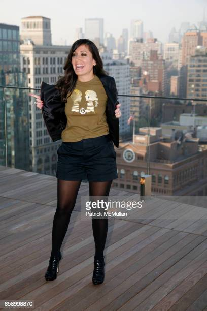 Stacy Morgenstern Igel attends THE COOPER SQUARE HOTEL MINIBAR EXCLUSIVES UNVEILING at Cooper Square Hotel Penthouse on April 21 2009 in New York City