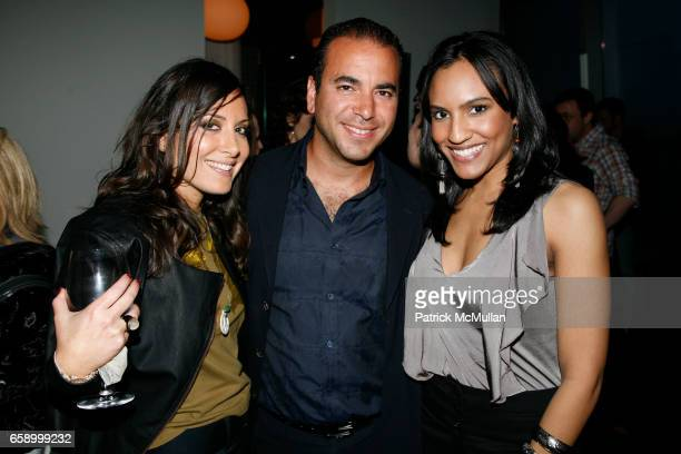 Stacy Morgenstern Igel Mike Oved and Eunice Quinones attend THE COOPER SQUARE HOTEL MINIBAR EXCLUSIVES UNVEILING at Cooper Square Hotel Penthouse on...