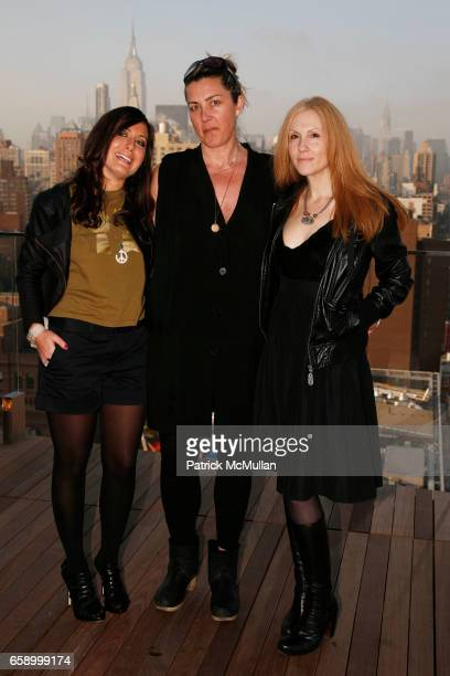 Stacy Morgenstern Igel Tina Thor and Loraine Abeles attend THE COOPER SQUARE HOTEL MINIBAR EXCLUSIVES UNVEILING at Cooper Square Hotel Penthouse on...