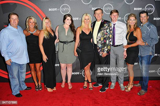 Stacy Sager Sports reporter Craig Sager and family attend BODY At The ESPYs PreParty at Avalon Hollywood on July 12 2016 in Los Angeles California