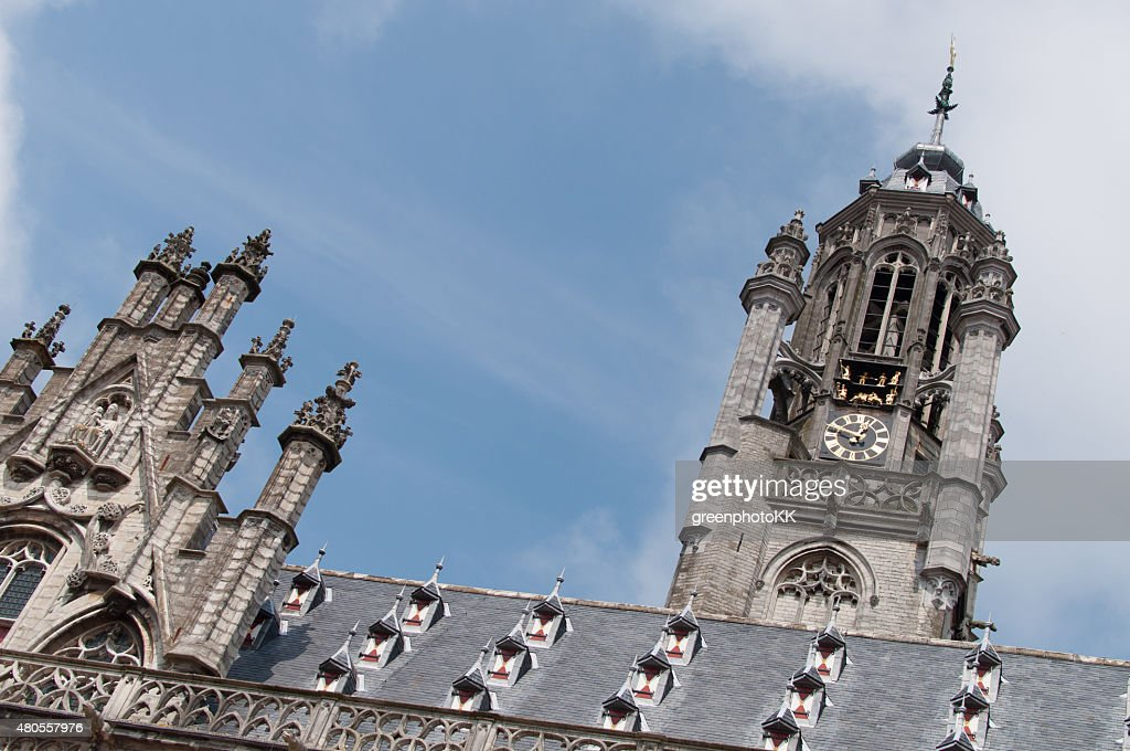 Stadhuis Middelburg, Niederlande : Stock Photo